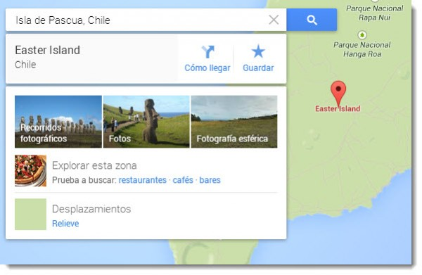 Visualizaciones Google Maps