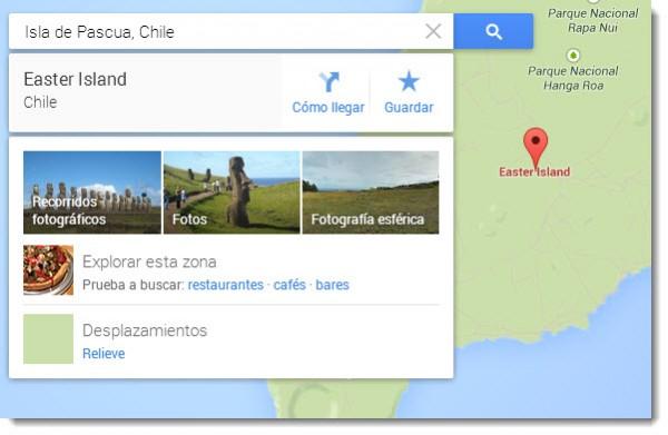 Visualizaciones Google Maps