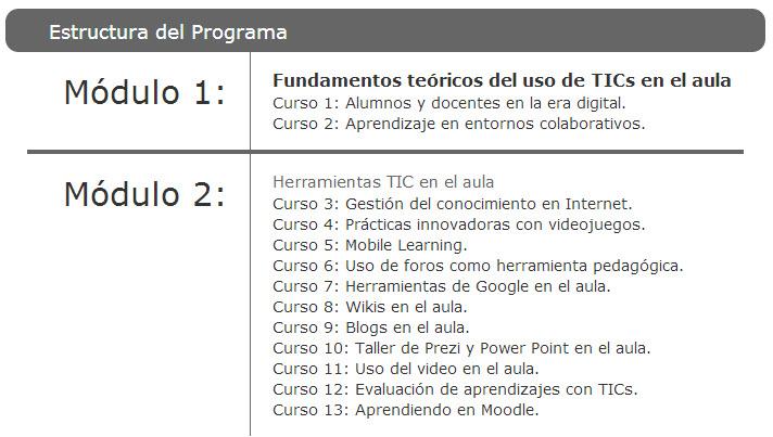 13 cursos gratuitos para educadores sobre las TIC en la educación
