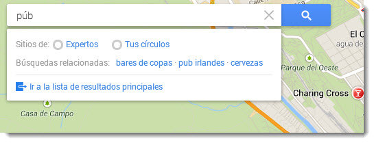 Explorar Google Maps