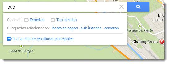 Explorar Google Maps
