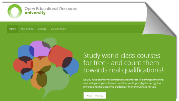 OERu ofrece cursos universitarios gratuitos con opción de créditos académicos