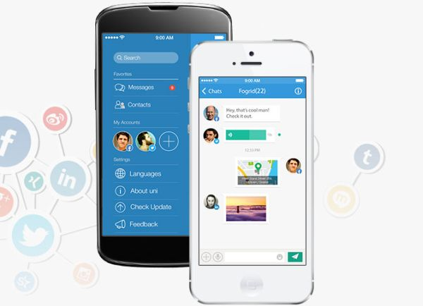 Uni Messenger llega a Android