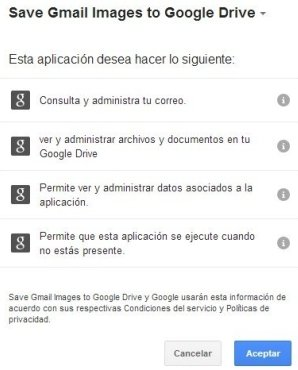 autorizacion gmail