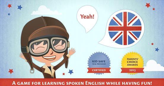 6 aplicaciones móviles para que los niños aprendan inglés