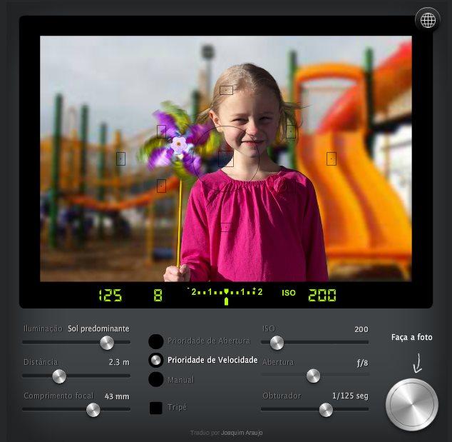 camerasim, simulador online para aprender los secretos de la fotografía