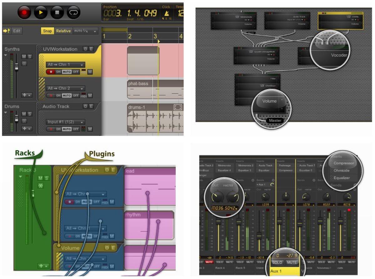 Ohm Studio, para grabar música trabajando en grupo