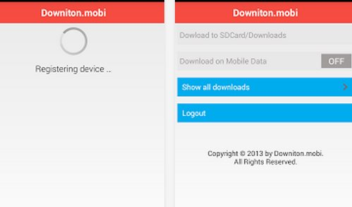 Downiton.mobi, para bajar cosas de Internet directamente a tu Android