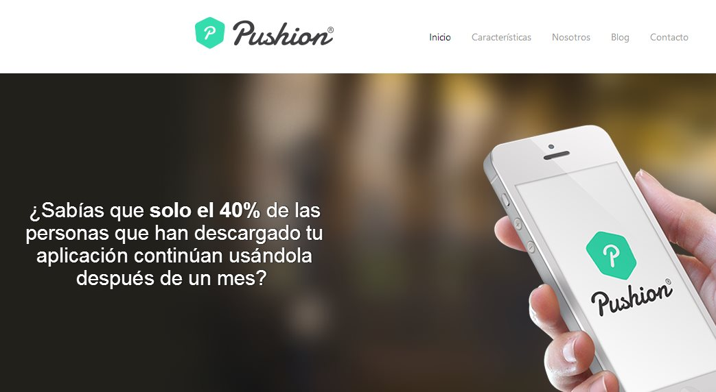 Pushion, un sistema para enviar notificaciones push a quien instala nuestras apps