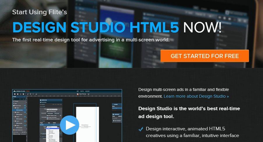 Flite, para diseñar anuncios y animaciones en HTML5