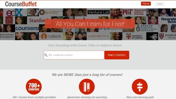 CourseBuffet, buscador y comparador de cursos en Coursera, EdX, Udacity y los demás