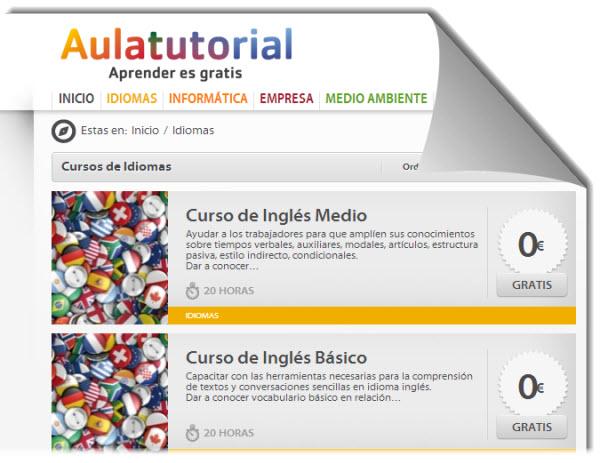 5 cursos online y gratuitos para aprender Inglés