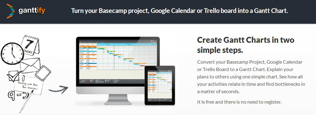 Ganttify convierte tu Google Calendar en un diagrama de Gantt