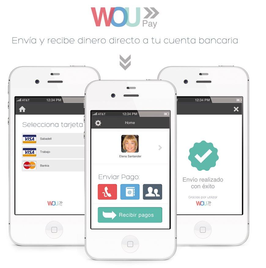 woupay, para enviar y recibir pagos desde cualquier parte del mundo