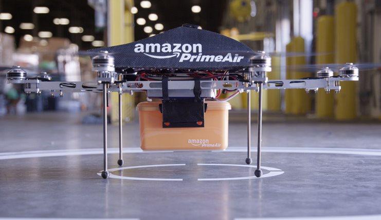 Amazon empezará a hacer entregas usando Drones (robots voladores)