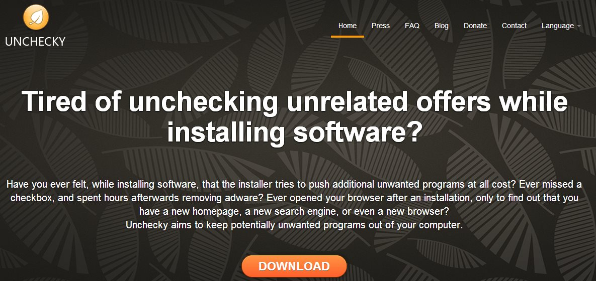 Unchecky, para evitar instalaciones adicionales cuando instalamos software