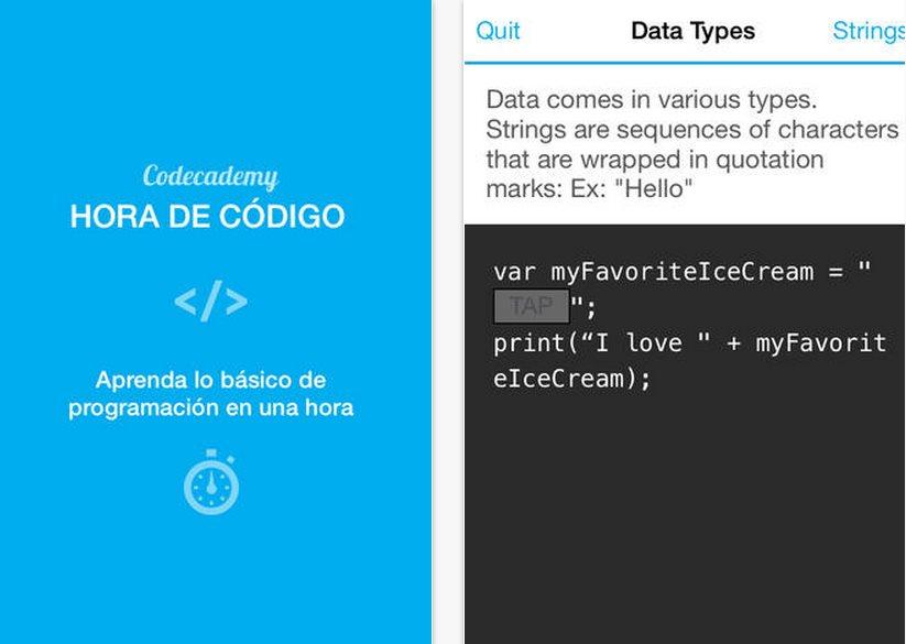 Codecademy presenta aplicación para iPhone para aprender a programar