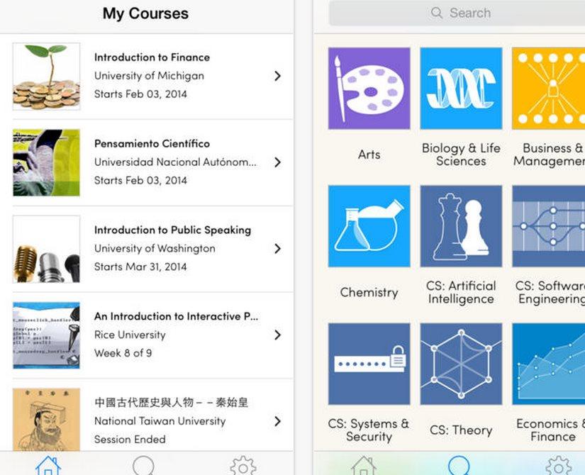 Coursera lanza aplicación iOS y prepara Android, para hacer cursos desde el móvil