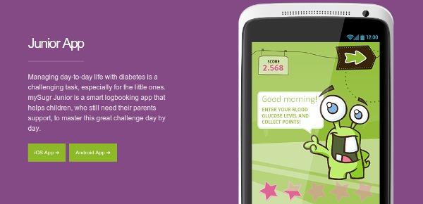 junior diabetes app