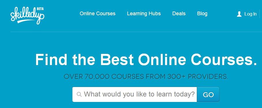 skilledup, una guía para encontrar cursos online