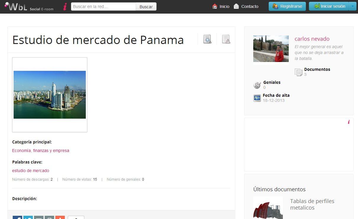 WbL, entorno seguro para compartir y vender documentos, en español