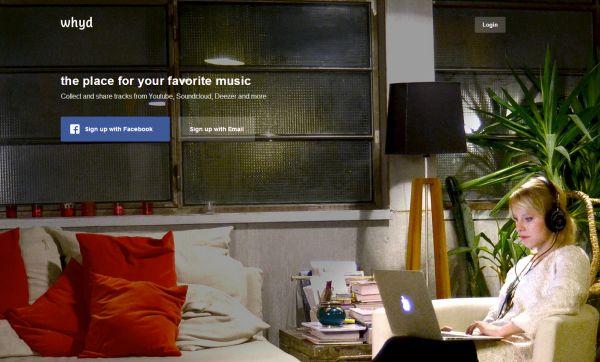 Whyd, servicio de selección de temas musicales en la web, abre sus puertas a todos los usuarios