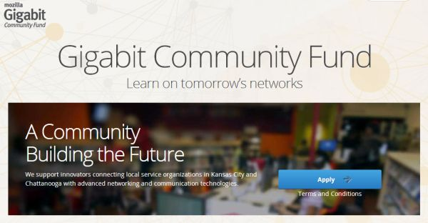 Mozilla Gigabit Community Fund