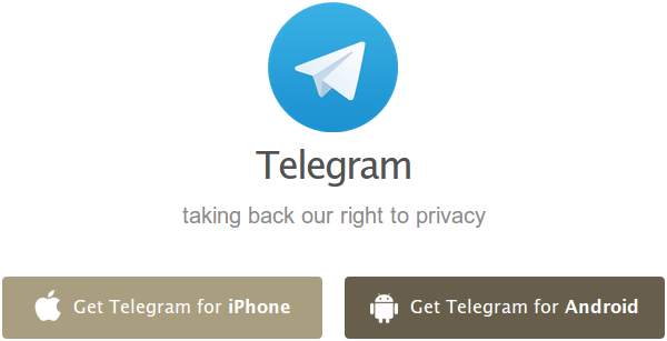 descargar telegram ios android