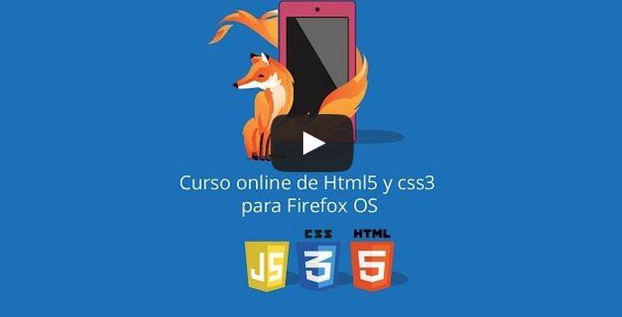 Curso gratuito de desarrollo de apps en HTML5 y CSS3, incluyendo móviles Firefox OS