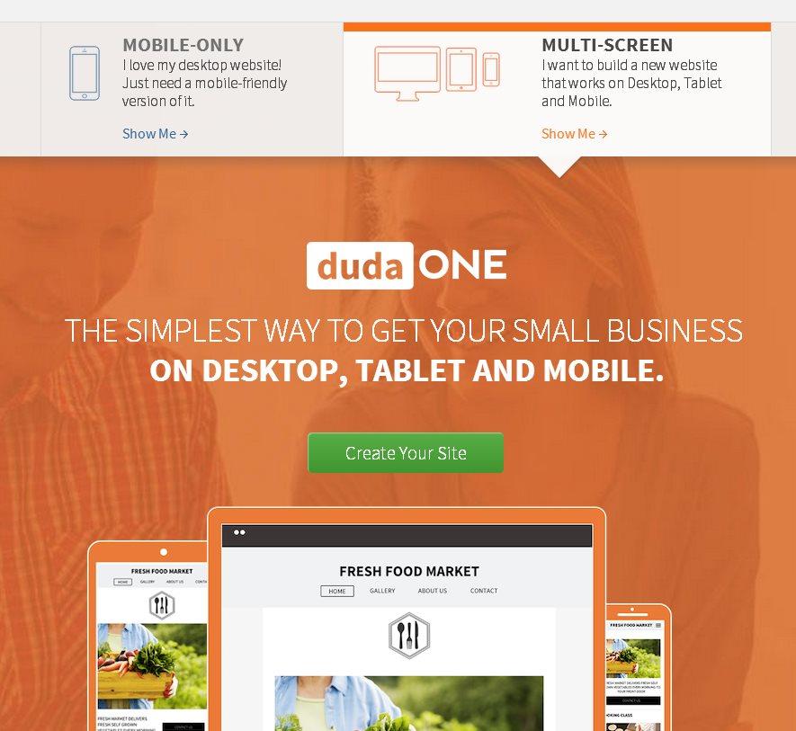 DudaOne, una fantástica plataforma para hacer sitios para web, móvil y tabletas