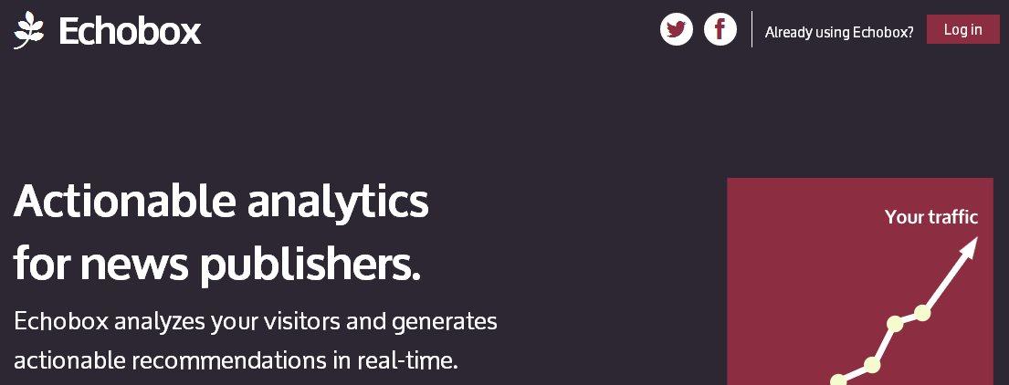 Echobox, herramienta de analíticas web para mejorar el tráfico y su gestión