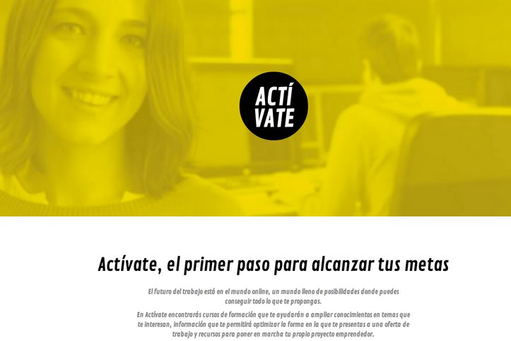 """Google lanza """"Actívate"""", con formación gratuita y recursos para quien quiere emprender"""