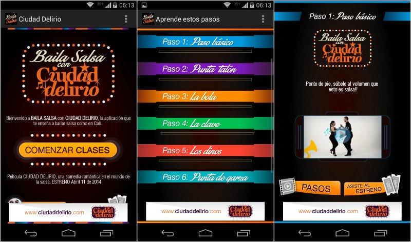 """Ciudad Delirio, app para aprender a bailar salsa """"como en Cali"""""""