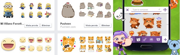 emoticones y sticker