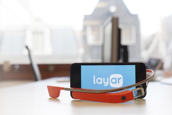 Layar en Google Glass