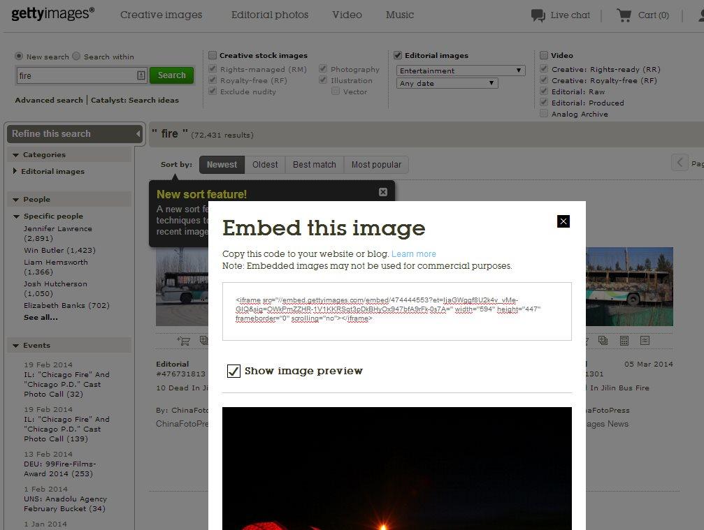 Ya podemos usar las millones de fotos de Getty Images de forma gratuita en nuestro sitio web
