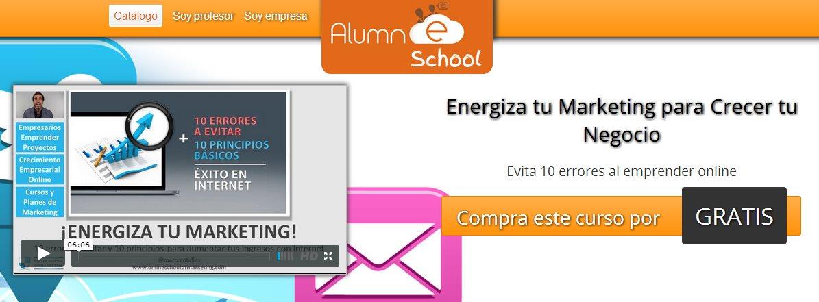 Curso online gratuito sobre marketing on-line y estrategias de e-marketing