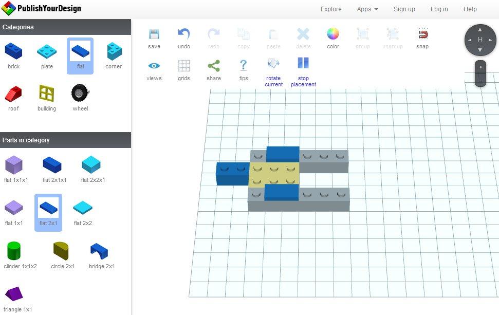 Publishyourdesign – Para construir con LEGO directamente en la web