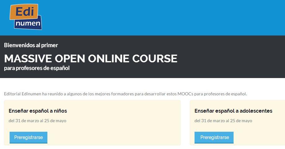 Cursos onlines gratuitos de español para niños y adolescentes, por la Universidad de la Rioja