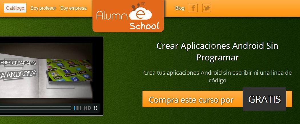 Curso gratuito de App Inventor, para crear aplicaciones para Android sin programar