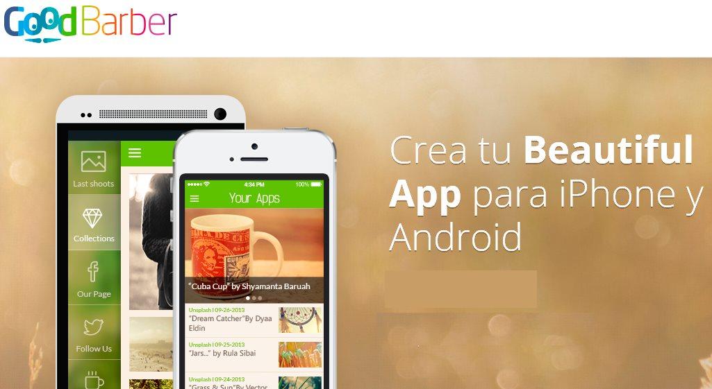 GoodBarber, plataforma para crear aplicaciones móviles, lanza nuevo CMS, creación en HTML5 y nuevas plantillas