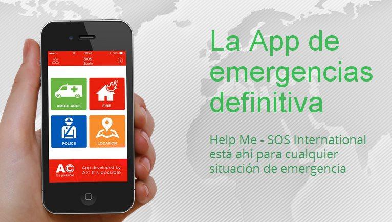 Una aplicación móvil para llamar a policía, bomberos y ambulancia desde 200 países