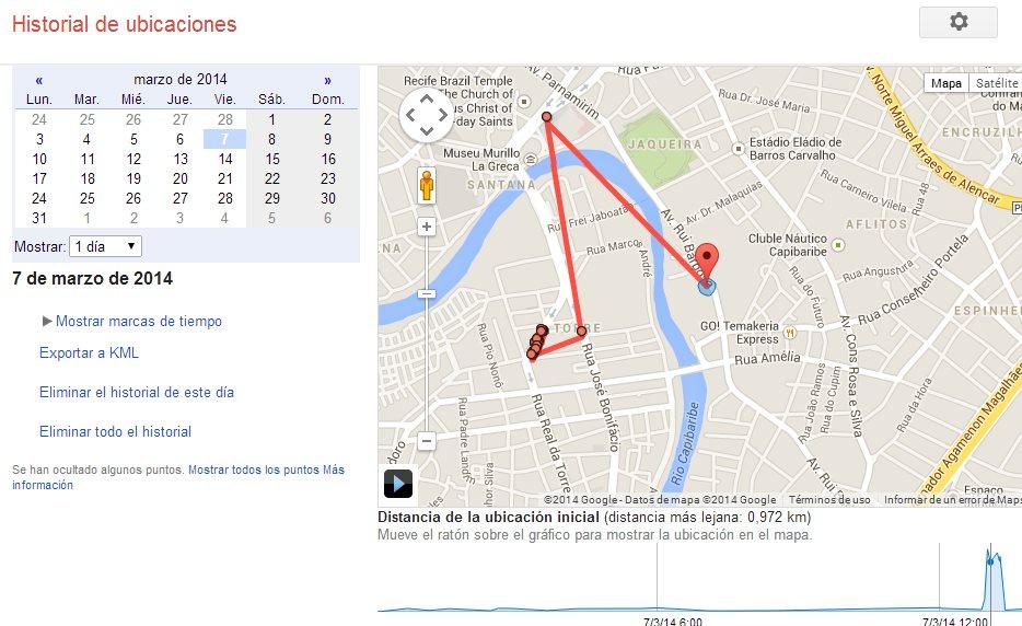 Una url que todo usuario de android debe visitar: Historial de ubicaciones