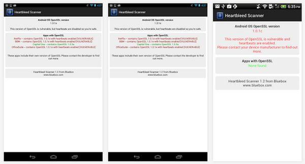 Bluebox Heartbleed Scanner nos permite conocer los puntos vulnerables de nuestros dispositivos Android