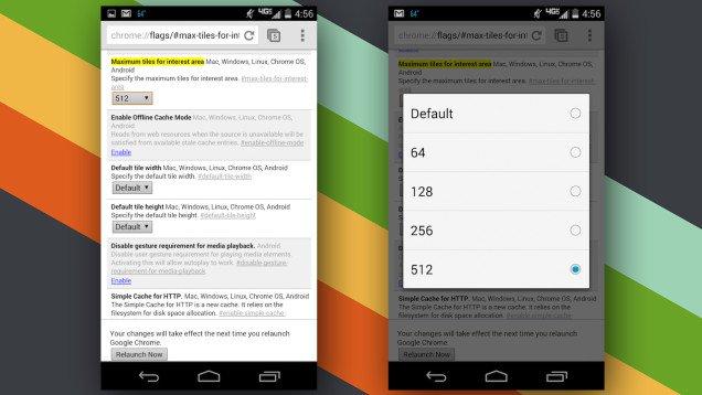 Ajuste rápido para mejorar la velocidad de ejecución de Chrome en Android