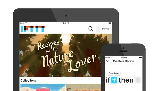 IFTTT lanza su aplicación para iPad e incorpora otras novedades para iOS