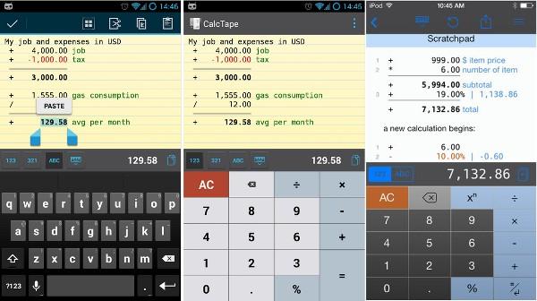 CalcTape, una sencilla calculadora financiera que se cree hoja de cálculo