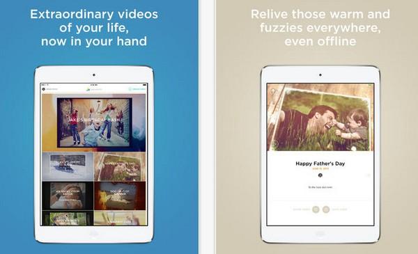 nueva app animoto para iPad
