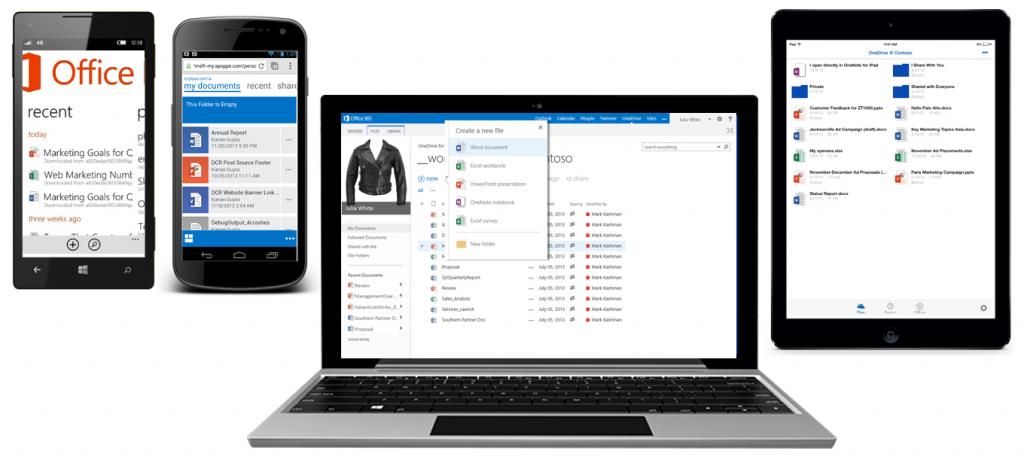 Microsoft incrementa la capacidad de OneDrive for Business: 1 Tera por usuario