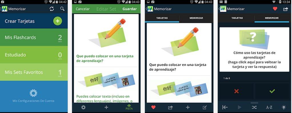 Memorizar – Excelente solución para crear tarjetas de memoria en web y móvil